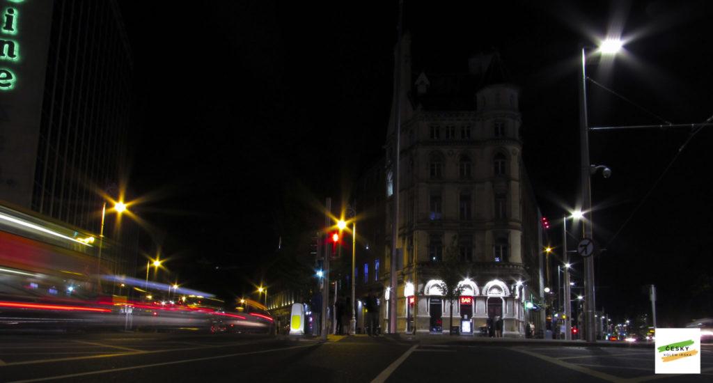 střed Dublinu